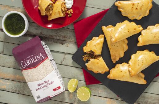 leftover-turkey-and-organic-rice-picadillo-empanadas