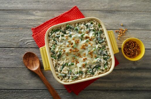 Green Bean Rice Casserole