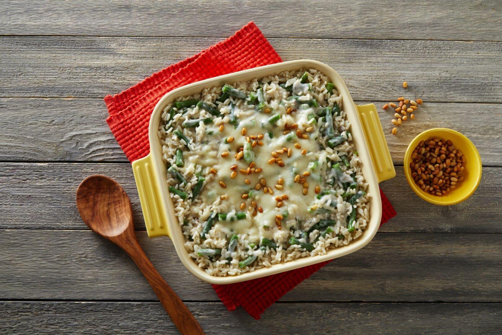Green Bean Rice Casserole