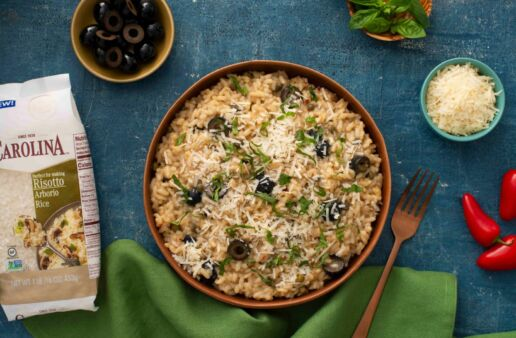 puttanesca-risotto-with-medium-grain-arborio-rice