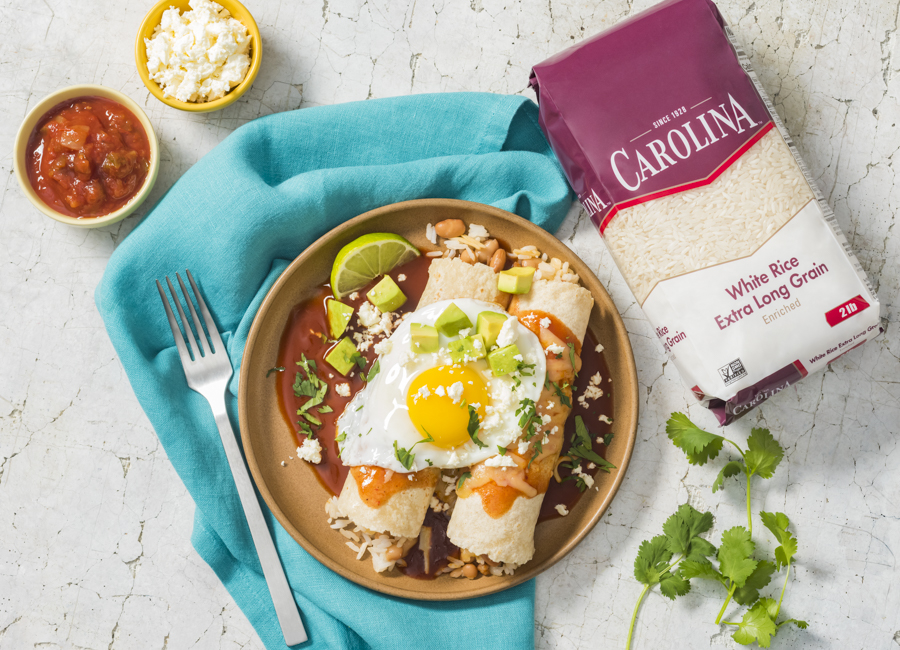 Huevos Rancheros Enchiladas