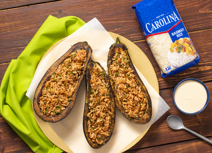 stuffed-eggplants-with-tomato-and-basmati-rice