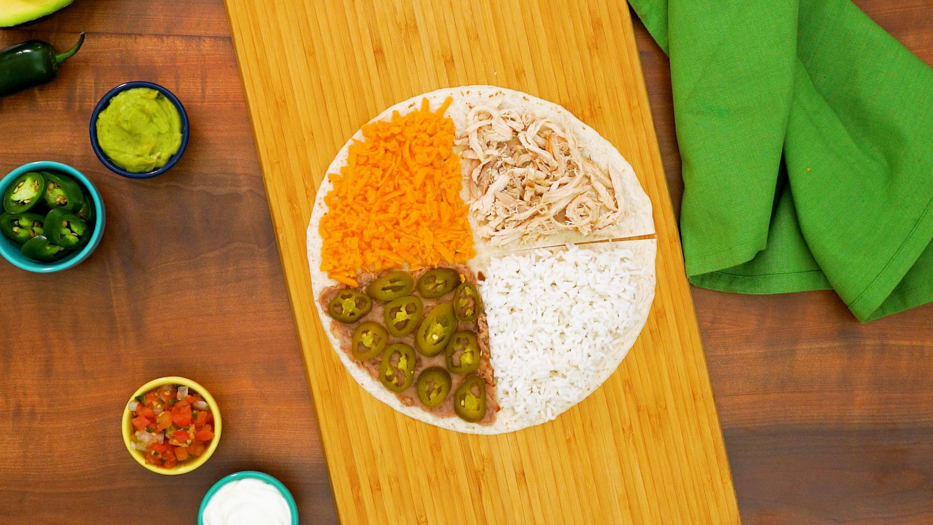 Tortillas con arroz
